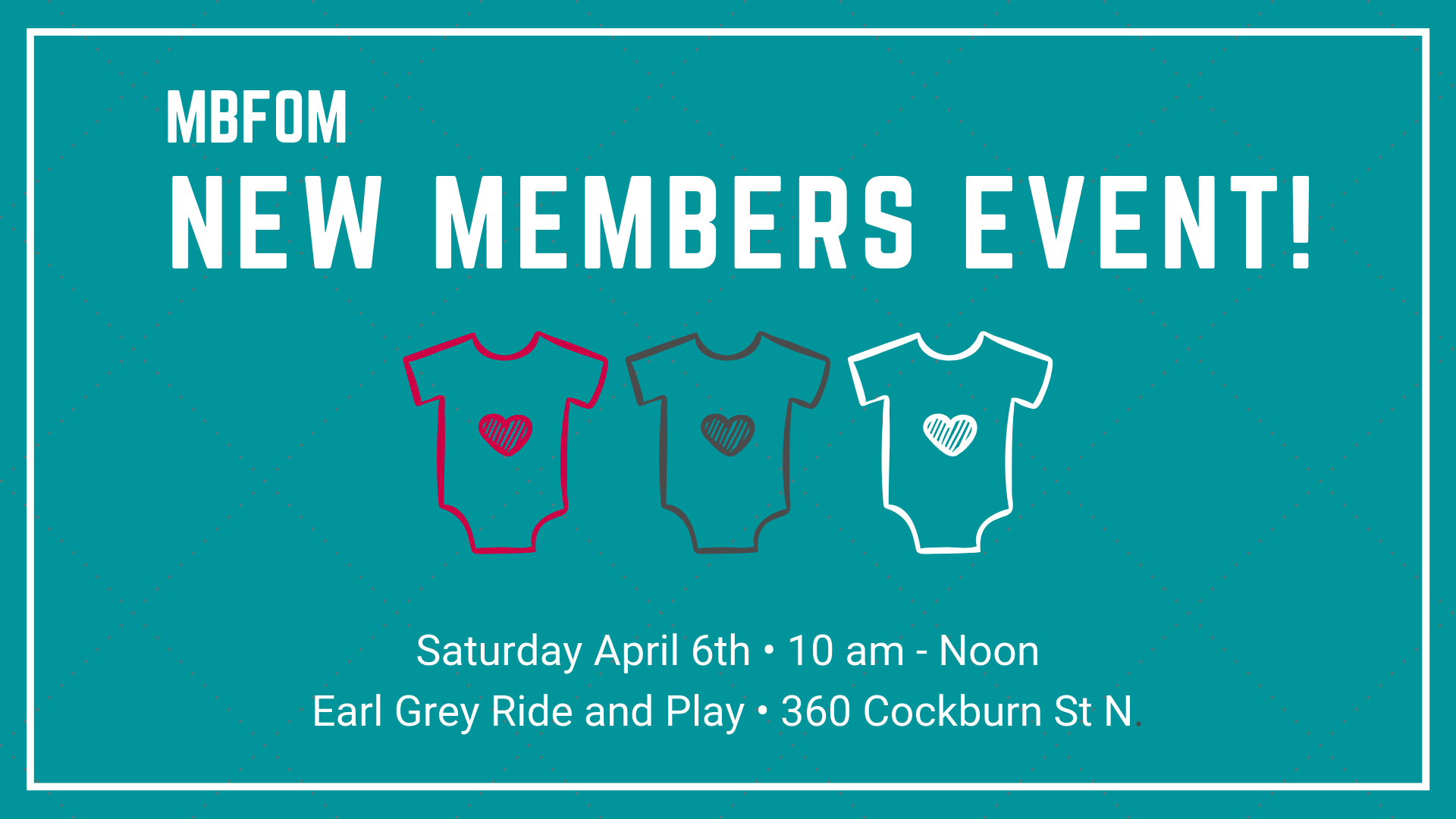 Spring New Members Event